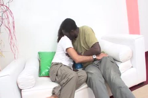 Interracial Sex On White daybed - Scene 1 - Mavenhouse