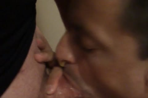 engulfing Daddies fat pecker To Multiple Orgasms And Jerks On His pecker And suck Him another time