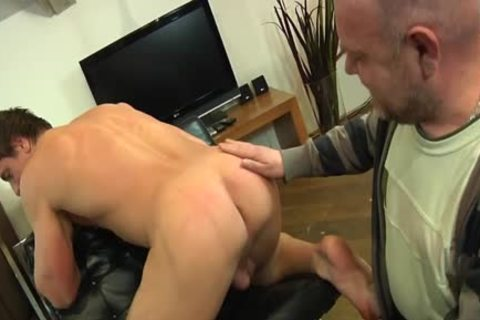 fashionable Euro Escort anal Rimmed An Cocksucked