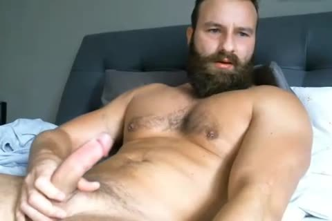 handsome man jerking off