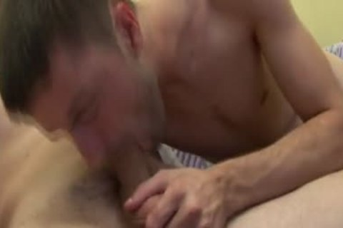 dude gets seduced Into drilling And sucking greetingss Buddy's meat
