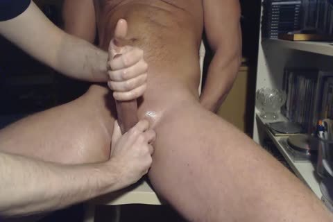 Me Milking Teasing Hung Veiny Alpha fellow - Post cum Rubbing