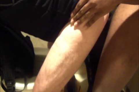 Daddy Meets A dirty 18yo Bull On CraigsList.  They Meet In The Hotel's bathroom Where Daddy Sucks Then gets pounded.  Finishes Off His Hung honey Swallowing His sleazy cum Then His lad Gives Daddy His final Treat By Pissing Down His throat