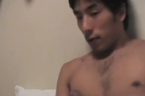 asian dudes Jerk And cock juice