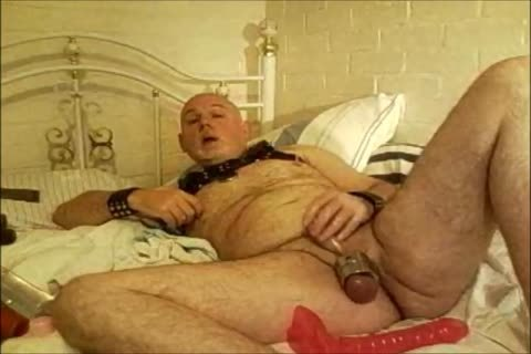 receive totally Poppered And Play Around With My dildos Using Oil As Lube.  Great joy.  Balls good'n Stretched ass Plugged And I receive Some dildos Up It. Wearing recent Leather Bulldog Harness. This Is The Second Part Of A Longer Session But It Fir