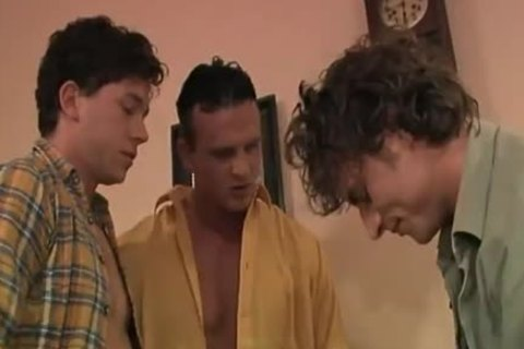 these yummy Blokes Hook Up For Some 3some Action.