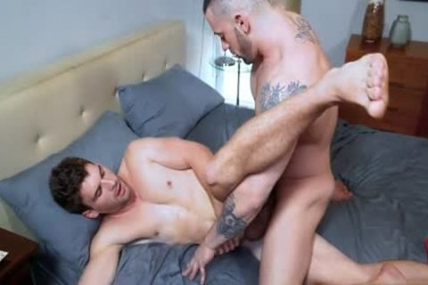 Muscle Wolf butt With cumshot