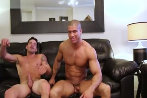 Muscle Son painfully anal sex With cumshot