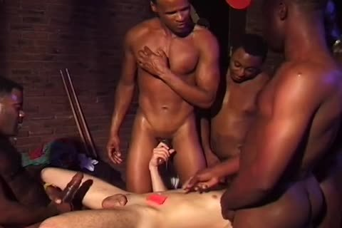 extreme darksome Gangbangs - Scene 6
