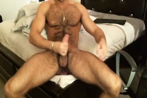 Hunk Sean Zevran dildos His wazoo And Cums On cam