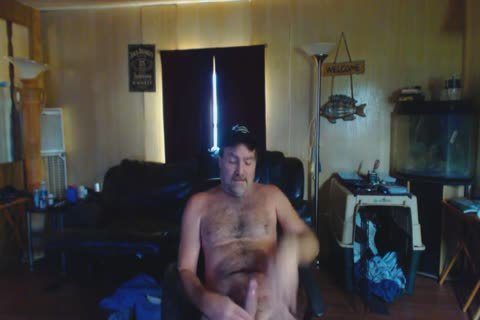 Redneck Le'roy Poundpup Jerking A Messy Load 08 2017