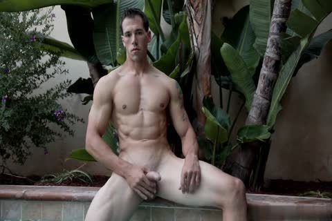Hung man In Poolside