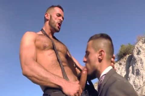 Muscle gay anal invasion And cum flow