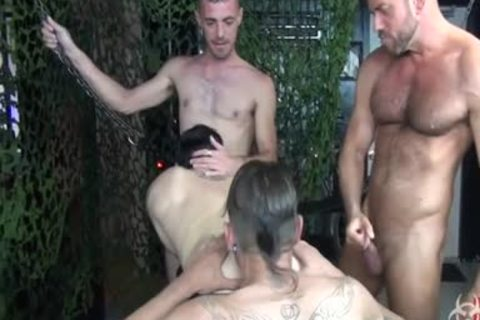 beautiful raw Foursome group gang sex