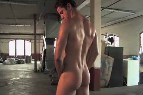 Legend men Gavin Wolfe 01 (Jeremiah Sanchez) - Warehouse jerk off Solo