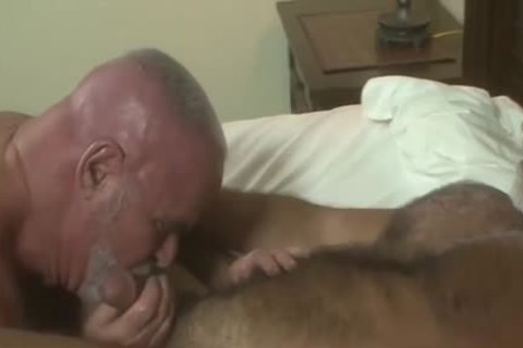 Two White Bearded Daddy's Love