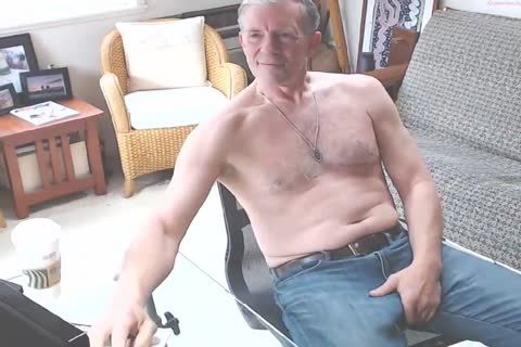 big Dicked dad jerking off 002
