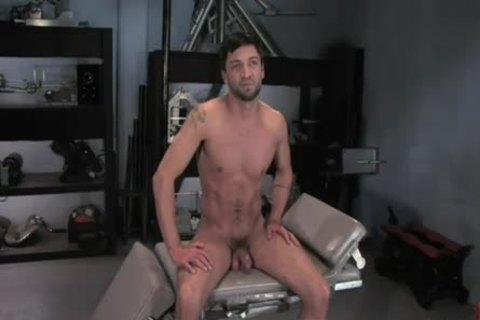 Dominic Pacifico In bondage And Getting banged On A Machine